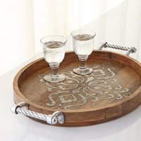 GG Collection Heritage Large Oval Tray