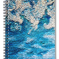 Ocean Foam - Spiral Notebook