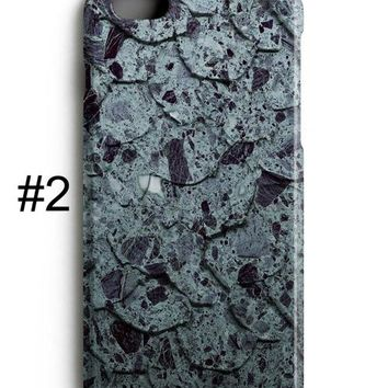 Blue Grey MARBLE iPhone 8 Case Marble iPhone 8