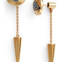 IAM by Ileana Makri 'Dawn' Spike Drop Back Earrings | Nordstrom