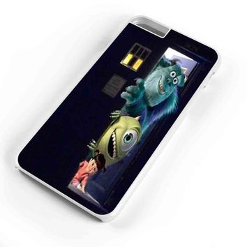 Sully Mike And Boo Open The Door Tardis Monsters Inc  iPhone 6s Plus Case iPhone 6s Case iPhone 6 Plus Case iPhone 6 Case