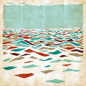 Sea Recollection Art Print by Efi Tolia | Society6