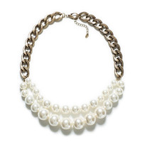 MAXI PEARL CHAIN NECKLACE - Accessories - Accessories - Woman | ZARA United States