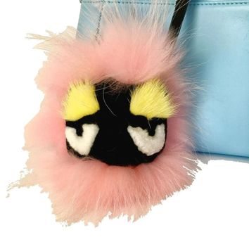 Fur Monster Bag Bug Charm