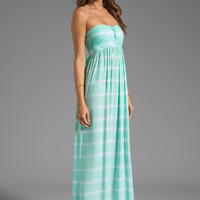 Tiare Hawaii Jasmine Maxi in Teal Tie Dye from REVOLVEclothing.com