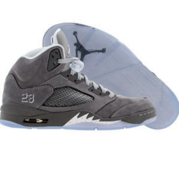 Air Jordan 5 V Retro - Wolf Grey (light graphite / white / wolf grey) - Shoes - 440888-005 | PickYourShoes.com