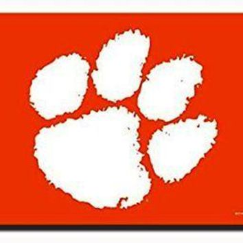 Clemson Tigers Rico Paw Only 3x5 Flag w/grommets Outdoor House Banner University