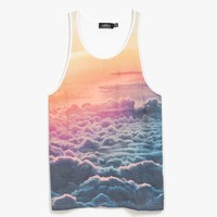 Multi Sunset Clouds Tank