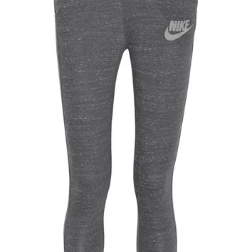 Nike - Gym Vintage organic cotton-blend jersey track pants