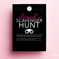 Bachelorette Scavenger Hunt - Bachelorette Party Game, Bachelorette Game -  PERSONALIZED