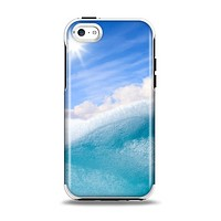 The Sunny Day Waves Apple iPhone 5c Otterbox Symmetry Case Skin Set