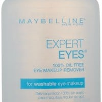 Maybelline New York Expert Eyes 100% Oil-Free Eye Makeup Remover, 2.3 Fl. Oz.