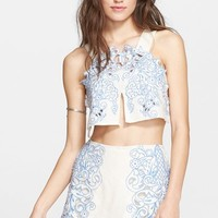 Women's Free People 'Topaz' Moon' Bralette & Skort Set