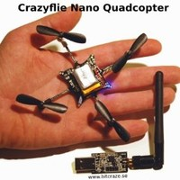 Crazyflie Nano Quadcopter Kit 6-DOF with Crazyradio