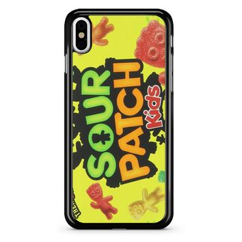 Sour Patch Kids Candy Package Front iPhone X Case