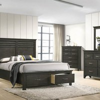 Newberry Queen Storage Bed Bark Wood By Coaster