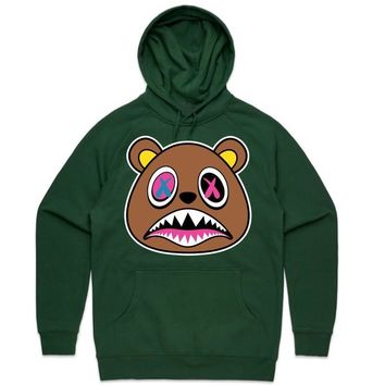 Crazy Baws Forest Green Sneaker Hoodie