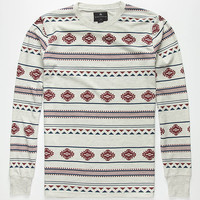 Shouthouse Arrowhead Mens Thermal Oatmeal  In Sizes