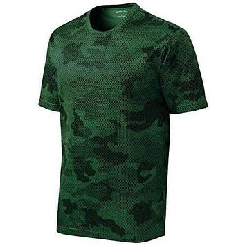 Yoga Clothing for You Mens Digital Camo Tee Shirt