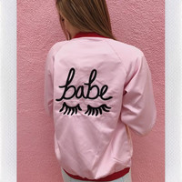 STYLE CLUB THE BABE JACKET - PINK