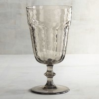 Rhone Almond Hammered Acrylic Goblet
