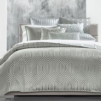 Hotel Collection Lithos King Comforter, Created for Macy's Bed & Bath - Comforters: Down & Alternative - Macy's