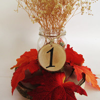 Birch Table Number, Table Wedding Numbers, Centerpiece Numbers, Rustic Table Numbers, Reception Table