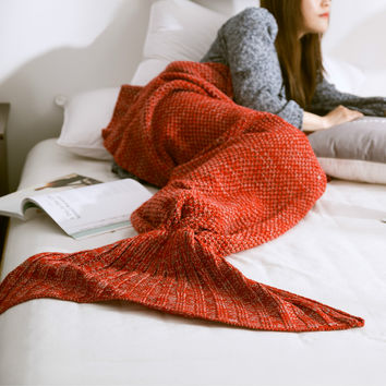 Winter Mermaid Party to Be Adored Warm Blanket