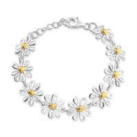 Bling Jewelry Daisy Blossom Chain