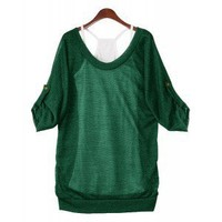 Open back Top Green
