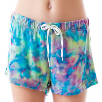 Ellington Rainbow Swirly Shorts Multi