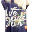 Life Goes On Print Graphic Tee