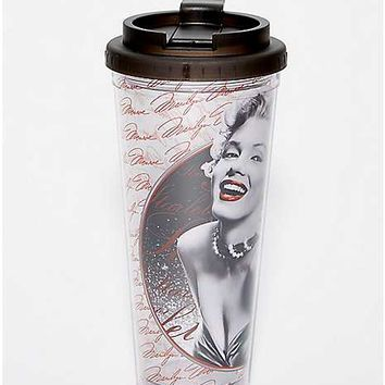 Marilyn Monroe Travel Mug - 24 oz. - Spencer's