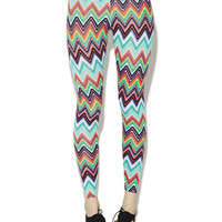 Zig Zag Legging | Wet Seal