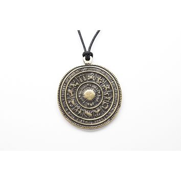 Astrology Signs Unisex Necklace with Rope