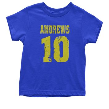 Andrews 10 Football Youth T-shirt
