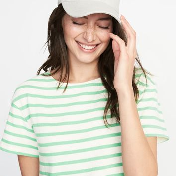Graphic Baseball Cap for Women|old-navy