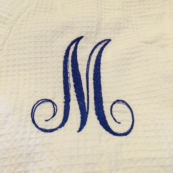 MONOGRAMMED Kimono Robes for Fun, Bridesmaids, Graduation, White, Turquoise, Lavender, Pink  Monogrammed  One Letter Per Robe