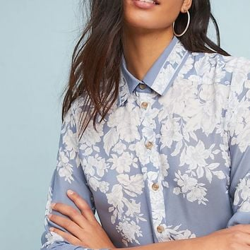 Rosalee Silk Buttondown