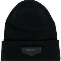 Givenchy Patch Detail Beanie - Farfetch