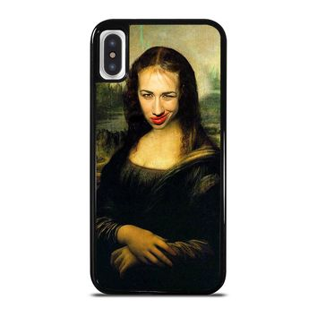 MIRANDA SINGS MONA LISA iPhone X Case