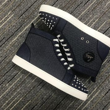 Christian Louboutin Cl Lou Spikes Orlato Sneakers Reference 3 - Best Online Sale