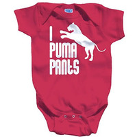 Shirts By Sarah Baby Funny I Puma Pants Bodysuit Unisex Creeper Snap Suit