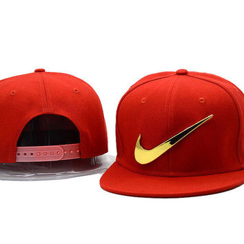 Nike Women Men Embroidery Baseball Cap Sport Hat Sunhat Cap