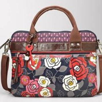 FOSSIL- Handbags NEW - Utility Bags:Womens Key-Per Laptop Tote SHB9820