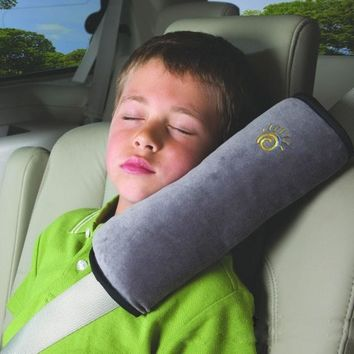 Baby Travel Pillow Safety Belt Harness Shoulder Pad Neck Sleeping Pillow Children Car Protection Pillow For  Boys Girls Cushion