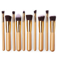 Professional 10 PCS Makeup Brush Set