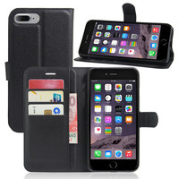 I Phone 7 Magnetic Multi functional Wallet Flip Leather Case Cover