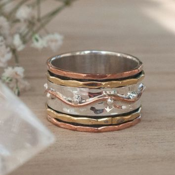 Renata Meditation Spinner Ring (BJS005)