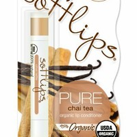 Softlips PURE Chai Tea Organic Lip Conditioner,   (Pack of 2)